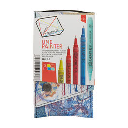 Graphik line painter pen set