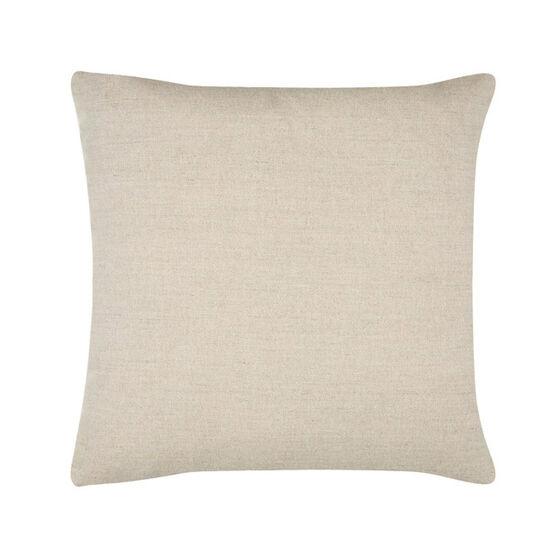 Paule Vézelay yellow linen blend cushion