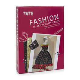 Fashion art activity cards