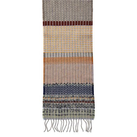 Rauschenberg inspired scarf - grey