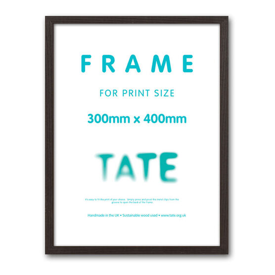 30 x 40 dark ash frame