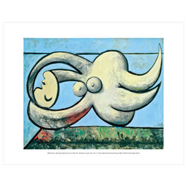 Pablo Picasso: Reclining Nude mini print