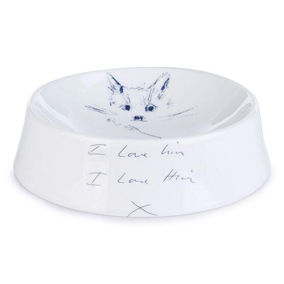 Tracey Emin Dockett Cat Bowl