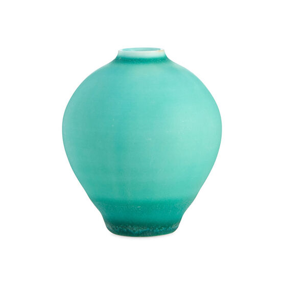 Tiny vase - medium green