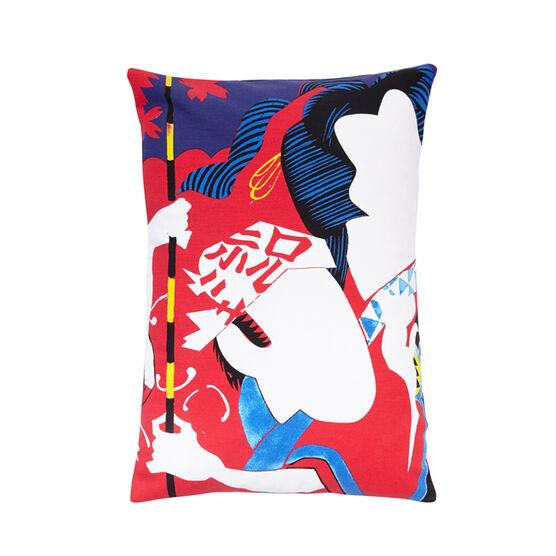 Shinohara samurai cushion cover