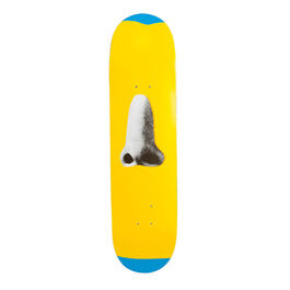 Baldessari: Yellow skateboard