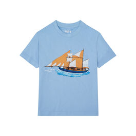 Alfred Wallis Blue Ship children's t-shirt