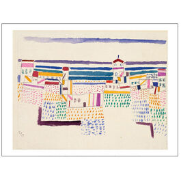 Seaside Resort Paul Klee - unframed print