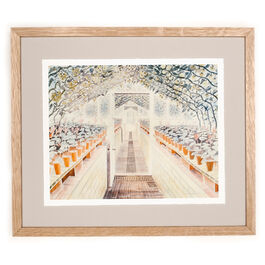 Ravilious The Greenhouse: Cyclamen and Tomatoes (framed print)