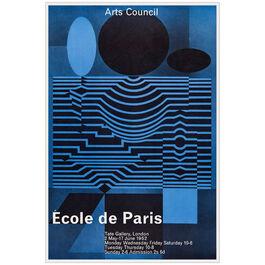 Ecole de Paris (Tate Vintage Poster Reproduction)