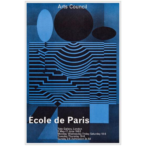 Ecole de Paris 1962 vintage poster