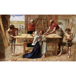 Millais: Christ in the House of His Parents