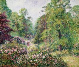Pissarro: Kew Gardens, Rhododendron Dell