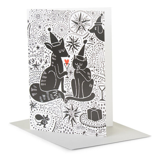 Tate RCA Christmas card Nakyeng Hwang - You and Me at Christmas (Pack of 6)
