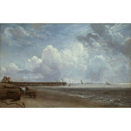 Constable: Yarmouth Jetty (custom print)