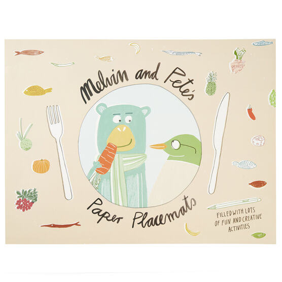 Melvin the Monkey placemats