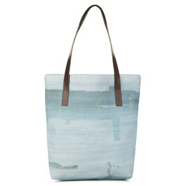 Whistler Nocturne leather strap tote bag