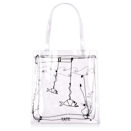Calder Gold Fish Bowl tote bag