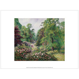 Pissarro Kew Gardens, Rhododendron Dell (exhibition print)