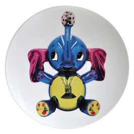 Jeff Koons Elephant service plate
