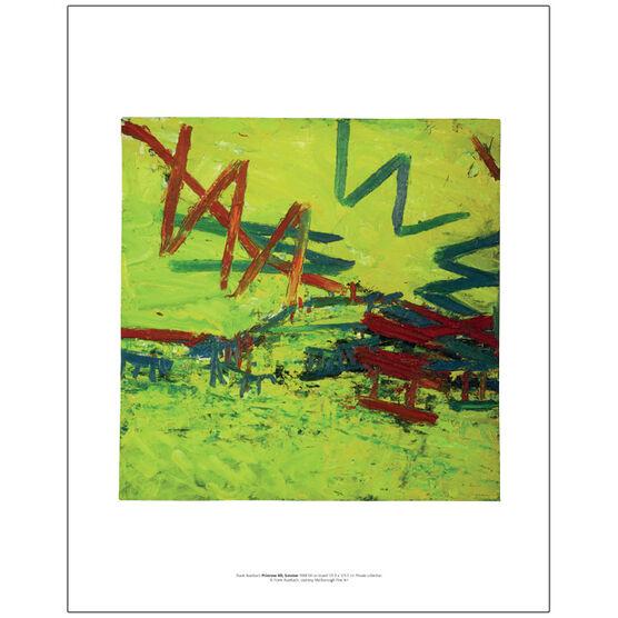 Frank Auerbach Primrose Hill, Summer 1968 (mini print)