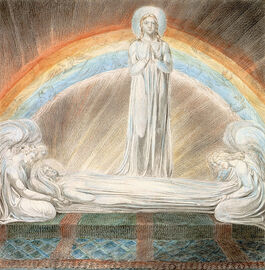 Blake: The Death of the Virgin
