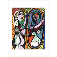 Pablo Picasso: Girl Before a Mirror poster