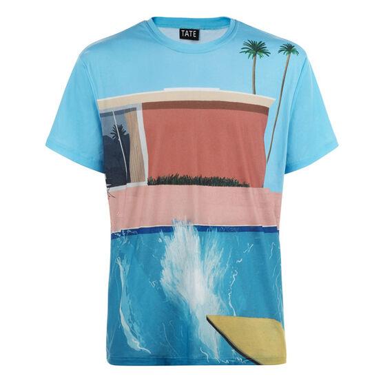 Hockney A Bigger Splash men's t-shirt