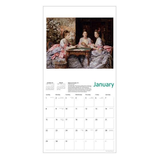Everett Millais calendar 2017