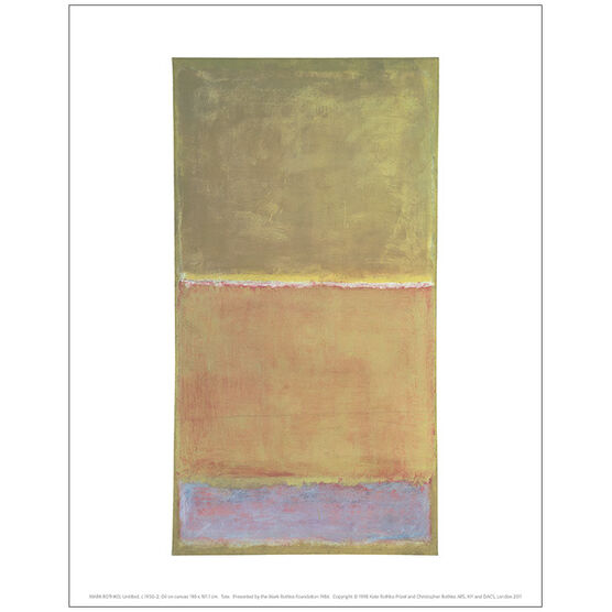 Mark Rothko Untitled c.1950-2 (mini print)
