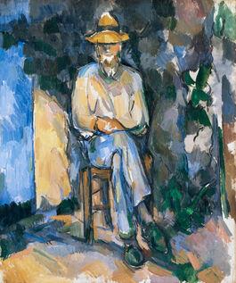 Cezanne: The Gardener Vallier (custom print)