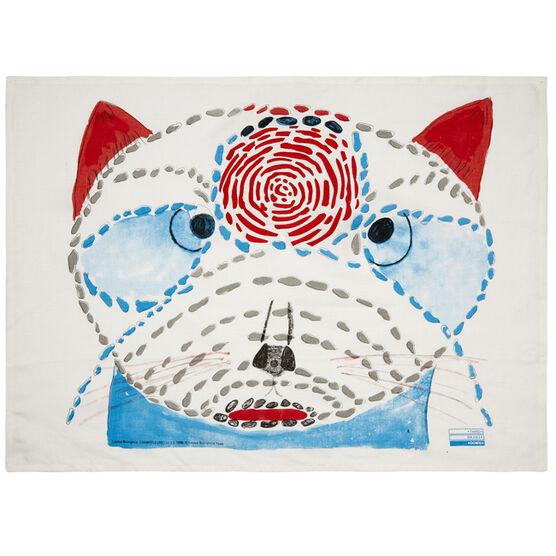 Louise Bourgeois cat tea towel