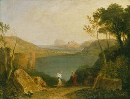 Turner: Aeneas and the Sibyl, Lake Avernus