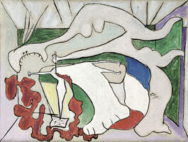 Pablo Picasso: Woman with Dagger