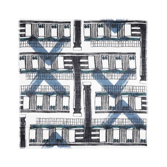 Maria Hatling monochrome Tate Modern scarf