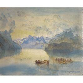 Turner: Lake Lucerne, The Bay of Uri