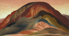 O'Keeffe: Rust Red Hills