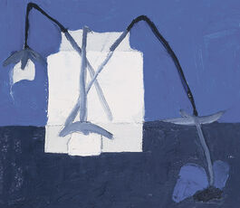 Margaret Mellis: Blue Anemone