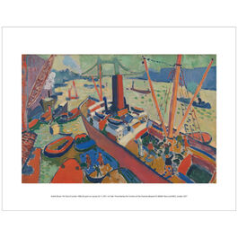 Derain Pool of London (mini print)