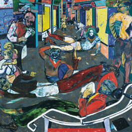 R.B. Kitaj: Cecil Court London, W.C.2 (The Refugees)