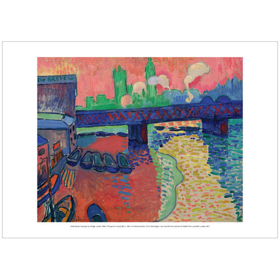 Derain Charing Cross Bridge (poster)