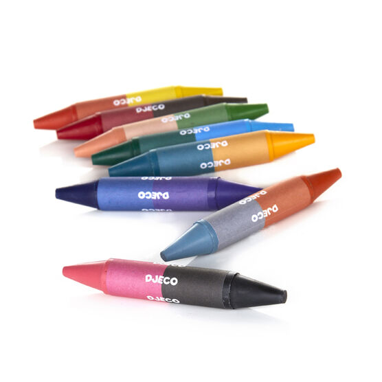 Twin crayons