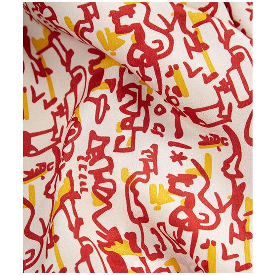 Patrick Heron Aztec silk scarf