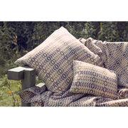 Llarwydden large copper cushion