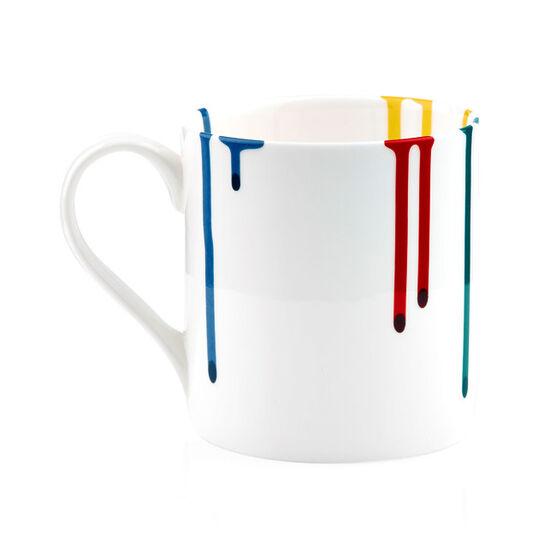 Artist paint drip mug