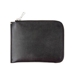 Margaret Howell half zip leather wallet