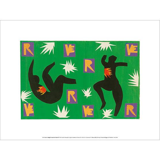 Henri Matisse Design cover for Verve IV (exhibition print)