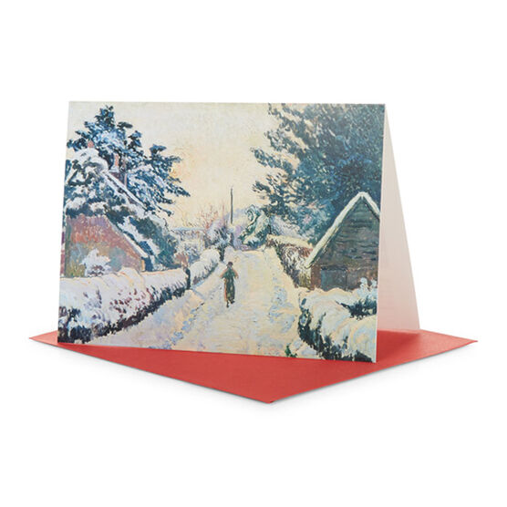Tate Christmas Card Lucien Pissarro Ivy Cottage, Coldharbour (Pack of 10)