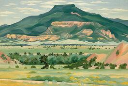 O'Keeffe: My Front Yard, Summer