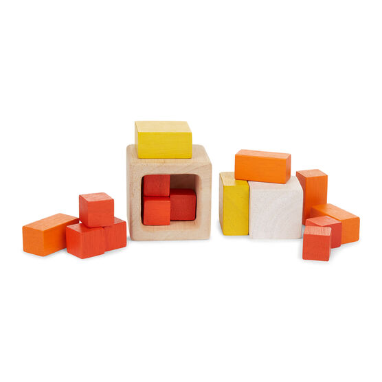 Fraction cubes toy